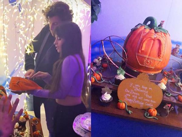 Camila Cabello Dapat Kejutan Ultah Bertema Cinderella dari Shawn Mendes
