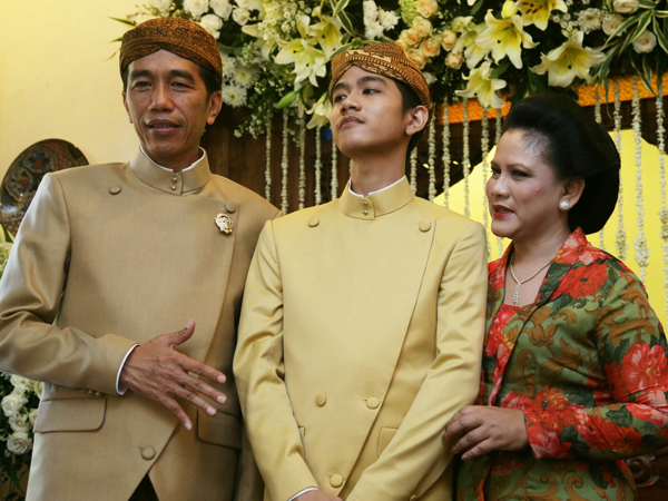 Gibran dan Selvi Menikah di KUA yang Sama dengan Soeharto dan Joko Widodo