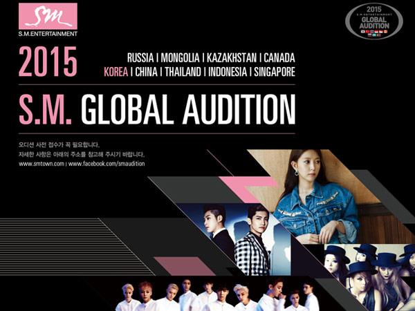 Hari Pertama Digelar, Panjangnya Antrian 'SM Global Audition 2015' di Jakarta