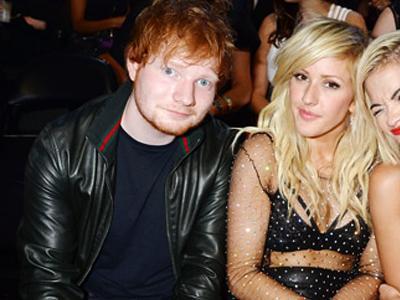 Ed Sheeran Mengaku Kencani Ellie Goulding di MTV Video Music Awards