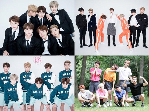 Intip Keren dan Gemasnya Foto-foto 'Keluarga' BTS di Perayaan 3 Tahun Debutnya Yuk!