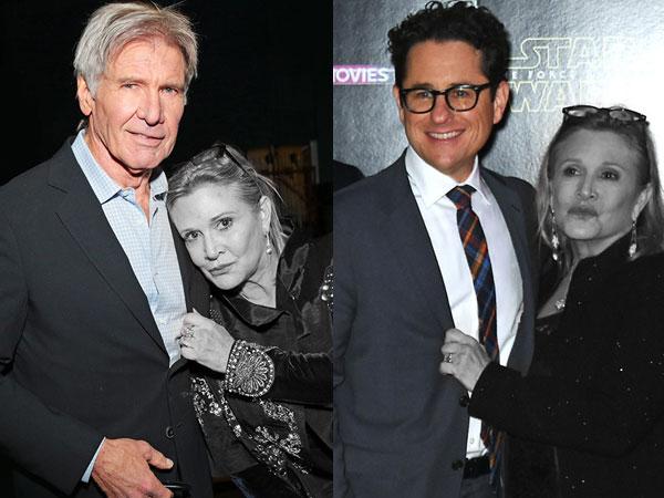 Berduka, Harrison Ford Hingga J.J Abraham Ungkap Kesedihan Atas Meninggalnya Carrie Fisher 'Star Wars'