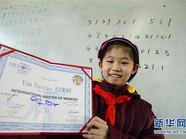 Wow! Gadis 10 Tahun Ini Raih Gelar Pakar Daya Ingat Termuda di Dunia