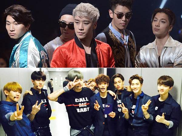 Pertama Kalinya, Big Bang dan EXO akan Bersaing Comeback di Waktu Bersamaan!