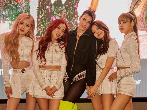 Kolaborasi dengan Dua Lipa, BLACKPINK Jadi Grup K-Pop Pertama yang Raih Pencapaian Ini di Inggris