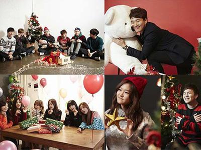 Sambut Natal, Artis Cube dan A Cube Entertainment Rilis 'Christmas Song' Bersama!