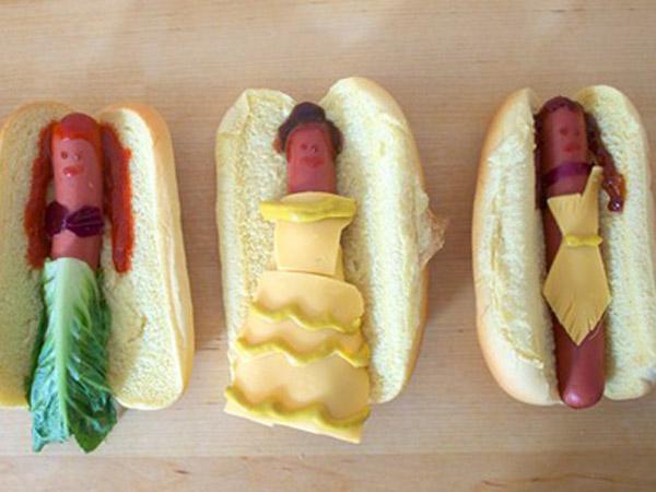 Lucunya, Hot Dog Ini Terinspirasi Dari Karakter Princess