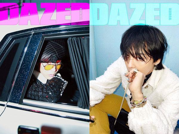 G-Dragon Hiasi 8 Sampul Majalah Dazed Korea Edisi Spesial Anniversary