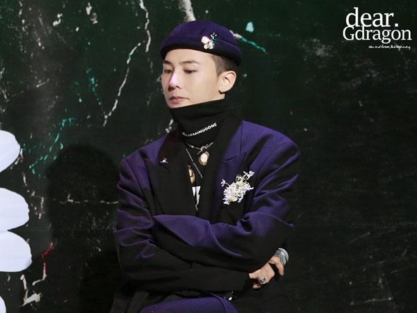 Tampil Perdana, G-Dragon Bicara Soal Kolaborasi dengan Nike Hingga Perubahan Sejak Wamil