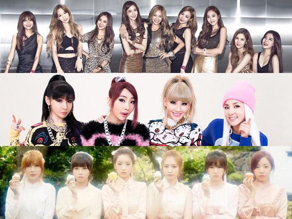 Inilah Para Girl Group K-Pop dengan Penjualan Musik Tertinggi di 2014