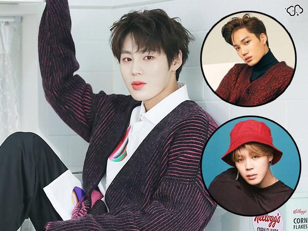 Ha Sungwoon Bagikan Kisah Awal Persahabatannya Bareng Kai EXO dan Jimin BTS