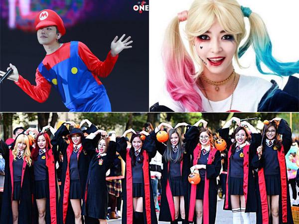 Jelang Halloween, Yuk Tengok Inspirasi Kostum Lucu Hingga Seram dari Para Idola K-Pop