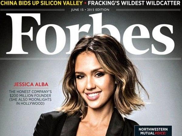 Wow, Jessica Alba Jadi Wanita Terkaya di Amerika Versi Majalah Forbes!