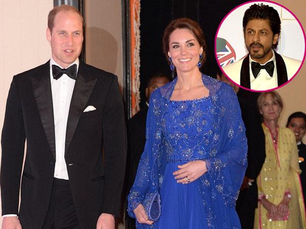 Berkunjung ke India, Kate Middleton dan Pangeran William Disambut Hangat Oleh Shahrukh Khan