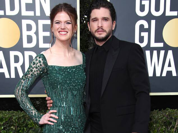 Kit Harington dan Rose Leslie 'Game of Thrones' Nantikan Anak Pertama