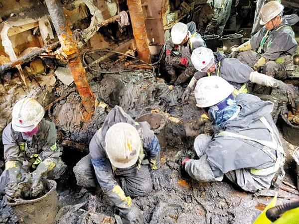 Kumpulan Tulang Korban Tragedi Tenggelamnya Kapal Sewol Kembali Ditemukan, Milik Tiga Orang?