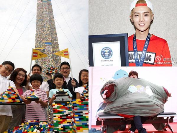 Inilah 10 Rekor Unik 'Guinness World Records' yang Pernah Dipecahkan Korea Selatan
