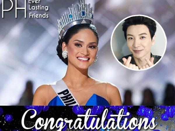 Diidolakan, Leeteuk Super Junior Berikan Ucapan Selamat Kepada Miss Universe 2015