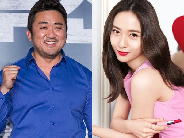 Ketika Aktor Berwajah Sangar Ma Dong Seok Beri Tips Kecantikan untuk Krystal f(x)