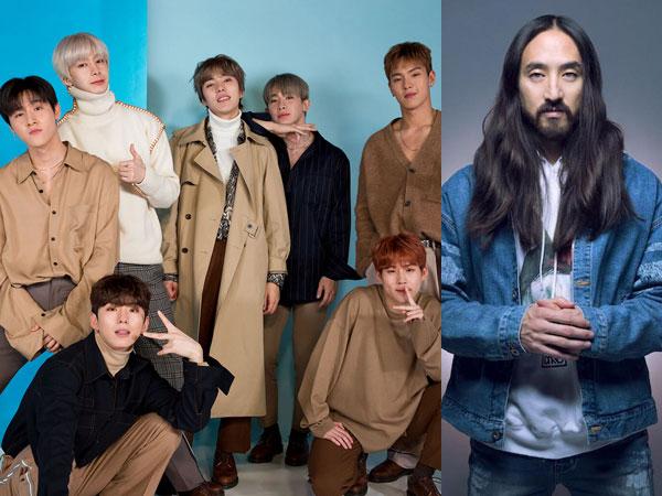 Monsta X Kejutkan Fans dengan Lagu Kolaborasi Bareng Steve Aoki di Album Baru