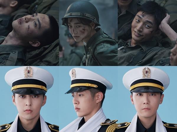 Potret Kontras Xiumin dan D.O EXO Hingga Kim Sejeong untuk Drama Musikal Militer