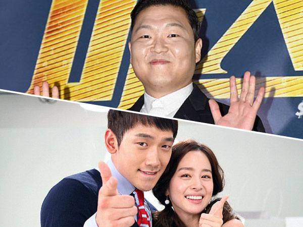 So Sweet! Psy Ungkap 'Pesan Tersembunyi' Rain Untuk Kim Tae Hee di Lagu 'The Best Present'