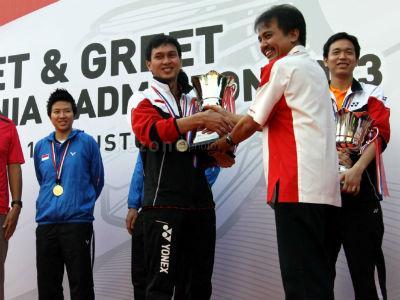 Hari Olahraga Nasional, Menpora Beri Penghargaan Enam Atlet