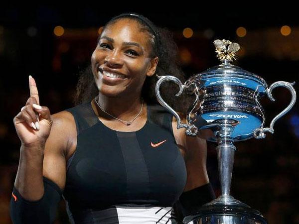 Salut, Serena Williams Tengah Hamil Saat Juarai Australia Open!
