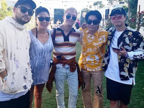 Epik High Jadi Tamu Spesial, Seungri Big Bang Ikut Eksis di Festival Coachella