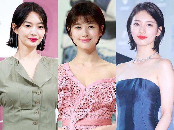 Gaya Rambut Pendek Sederet Aktris Cantik Korea, Who Looks Better?