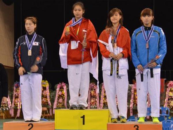 Taekwondoin Indonesia Menangkan Banyak Medali di Korea Selatan