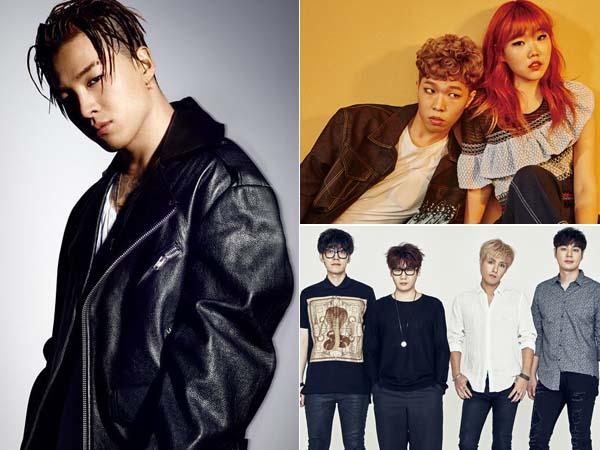 Sudah Di Bandara Incheon, Taeyang Big Bang, Akdong Musician dan Nell Siap Terbang ke Jakarta!