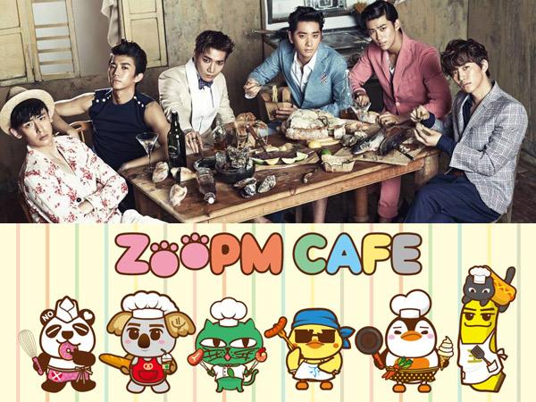 Berbarengan Promosi Konser, 2PM Buka Kafe Karekter Kartun di Jepang
