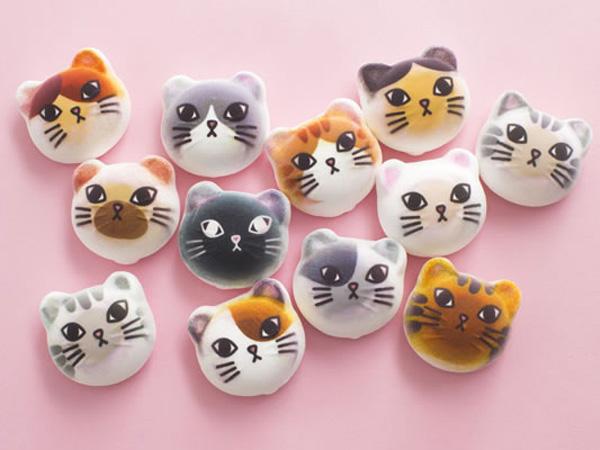 Yummy! Marshmallow Ini Berbentuk Kepala Kucing Yang Menggemaskan