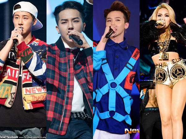Yuk Intip Kumpulan Rapper Muda Terbaik YG Entertainment!