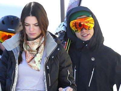Harry Styles dan Kendall Jenner Liburan Bareng di Resort Ski