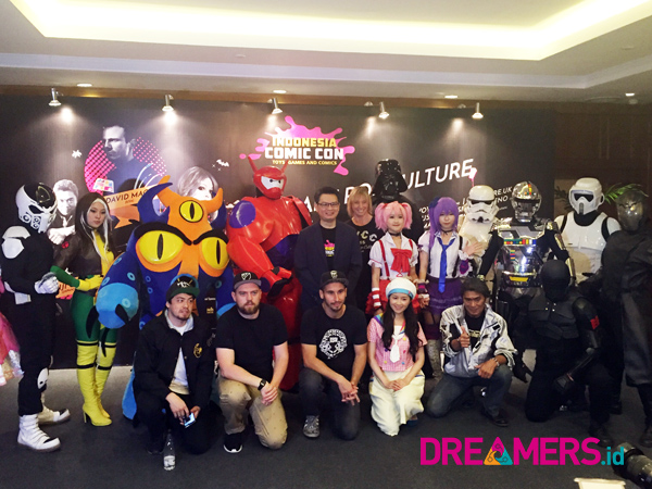 Deretan Artis Ternama Siap Bagikan Pengalaman Seru di Indonesia Comic Con 2015