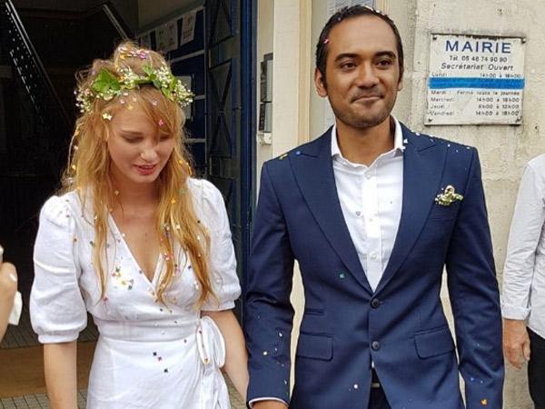Ario Bayu Resmi Menikahi Aktris Cantik Asal Perancis!