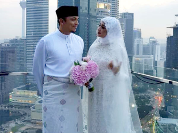 Sah! Laudya Cynthia Bella Resmi Dinikahi Pria Malaysia