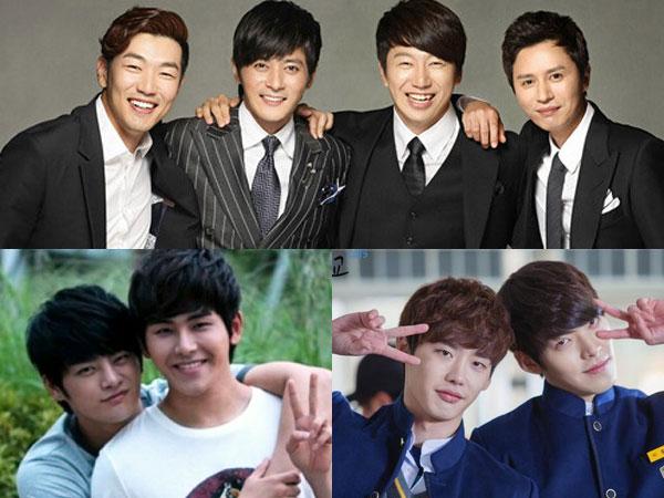 Ini Dia 7 Aksi 'Bromance' Terfavorit Dalam Drama Korea!