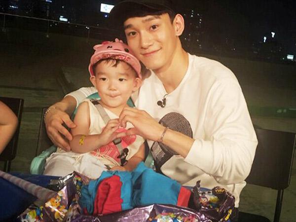 Setelah Suho, Kini Giliran Chen EXO Berikan Hadiah Manis Untuk SoDa Siblings