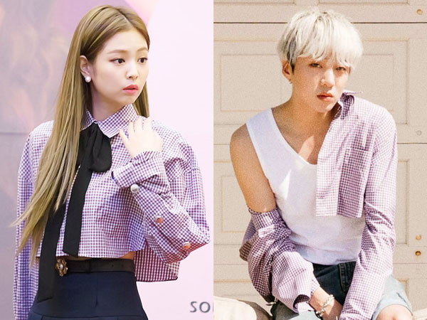 Cropped Shirt Kembar Jennie BLACKPINK vs Seungyoon WINNER, Who Wore it Better?