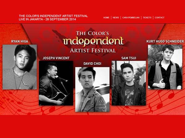Para Musisi Populer 'YouTube' Siap Ramaikan Jakarta dalam 'The Colors Independence Artist Festival'!