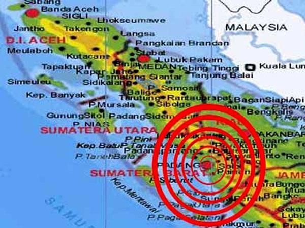BMKG Catat Telah Terjadi 6 Kali Gempa Susulan di Sumatera Barat