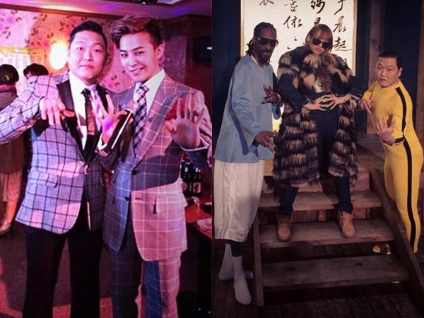 Psy Tunjukkan Aksi  Konyol Bareng Snoop Dogg, G-Dragon, dan CL di MV 'Hangover'!