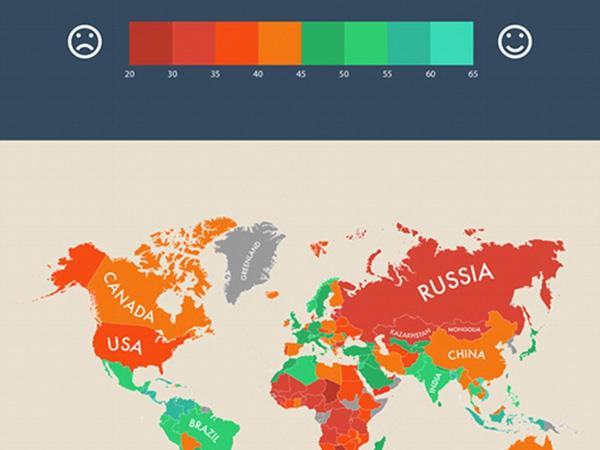 Ini Dia Negara-negara yang Diberi Predikat Negara Paling Bahagia di Dunia