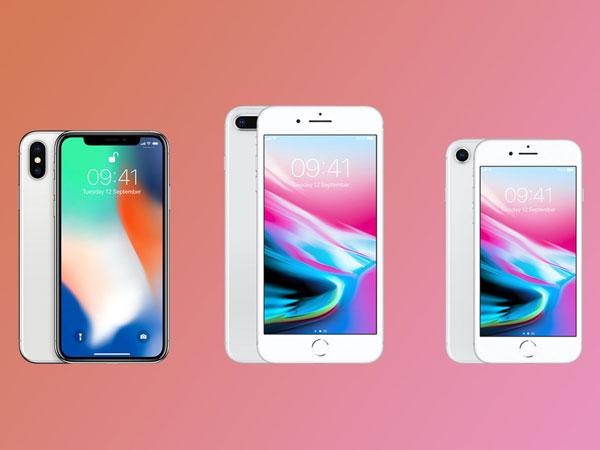 Bingung Pilih iPhone 8, iPhone 8 Plus, atau iPhone X? Simak Perbedaanya