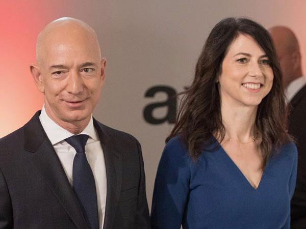 Resmi Cerai, MacKenzie Dapat 495 Triliun dari Harta Kekayaan Bos Amazon Jeff Bezos