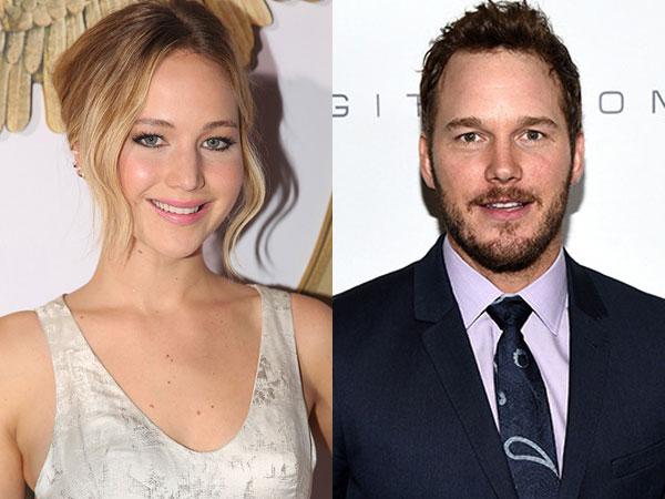 Jennifer Lawrence Main Bareng Chris Pratt Dalam Sci-fi Romantis Terbaru?