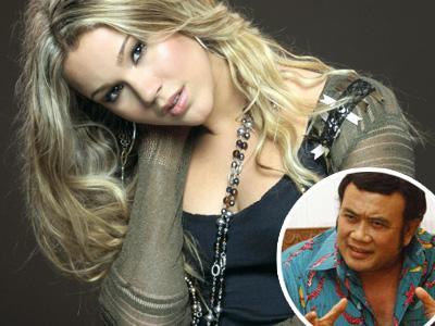 Ngefans Musik Dangdut, Joss Stone Temui Rhoma Irama Saat di Jakarta